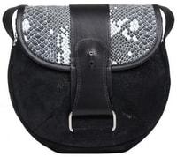 Kožená kabelka RULER černá