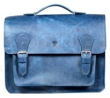 Kožená taška RUBY modrá