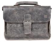 Dámská kožená taška WEST 05 šedá