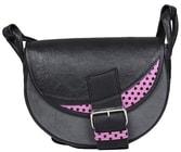 Kožená kabelka FRESHMAN MINI 101E15 Černá kabelka přes rameno