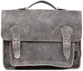 Kožená taška RUBY šedá