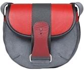 Kožená kabelka RULER 209 malá kabelka přes rameno