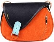 Kožená kabelka MOUSE Dámská kabelka přes rameno