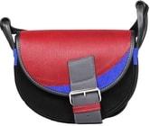 Kožená kabelka FRESHMAN MINI 105 Černá kabelka přes rameno
