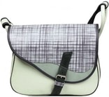 Kožená taška FRESHMAN dámská taška přes rameno A4