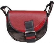 Kožená kabelka FRESHMAN MINI Černá kabelka přes rameno