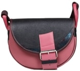 Kožená kabelka FRESHMAN MINI 1401 růžová kabelka přes rameno