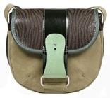 Kožená kabelka RULER 707 malá kabelka přes rameno