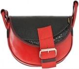 Kožená kabelka FRESHMAN MINI 901 červená kabelka přes rameno