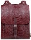 Kožený batoh BOOKPACK 510 vínový batoh