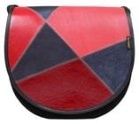 Kožená kabelka ZUZA prostorná dámská kabelka na rameno