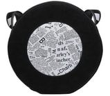 Kožená kabelka HOLY 102 dámská černá kabelka přes rameno