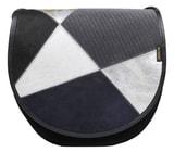 Kožená kabelka ZUZA 01 prostorná dámská kabelka na rameno